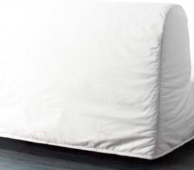 Диван-кровать Ikea Ликселе Левос 098.400.88 (Ранста белый) - вид сзади