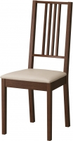 Стул Ikea Берье 098.781.23 (коричневый/песочный) -