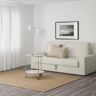 Диван-кровать Ikea Виласунд 099.072.48 (Виттарид светло-бежевый) - в интерьере