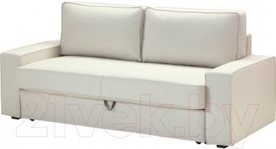 Диван-кровать Ikea Виласунд 099.072.48 (Виттарид светло-бежевый)