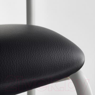 Стул офисный Ikea Стольян 099.074.51 - сиденье из искусственной кожи