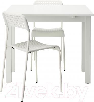 Обеденная группа Ikea Бьюрста / Адде 190.107.25