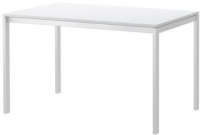 Обеденный стол Ikea Мельторп 190.117.77 (белый) -