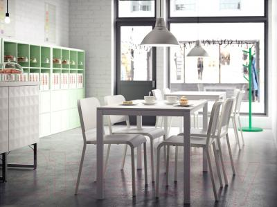 Обеденный стол Ikea Мельторп 190.117.77 (белый)