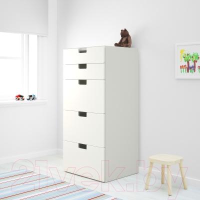 Комод Ikea Стува 190.146.72 (белый)