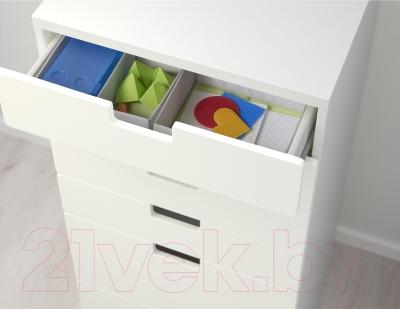 Комод Ikea Стува 190.177.55 (белый)
