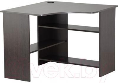Компьютерный стол Ikea Тодален 602.635.07 (черно-коричневый)