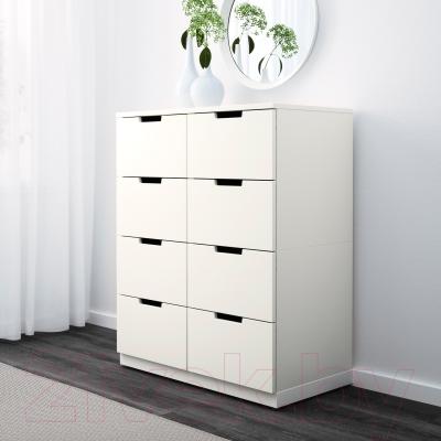 Комод Ikea Нордли 190.212.67 (белый)