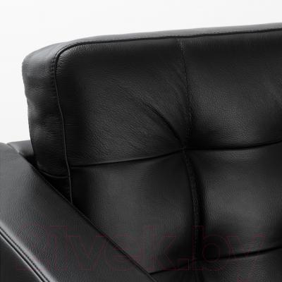 Диван Ikea Ландскруна 190.317.42 (черный/металл)