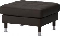 Банкетка Ikea Ландскруна 190.318.17 (темно-коричневый/металл) -