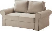 Диван-кровать Ikea Баккабру 190.335.57 (Тигельшо бежевый) -