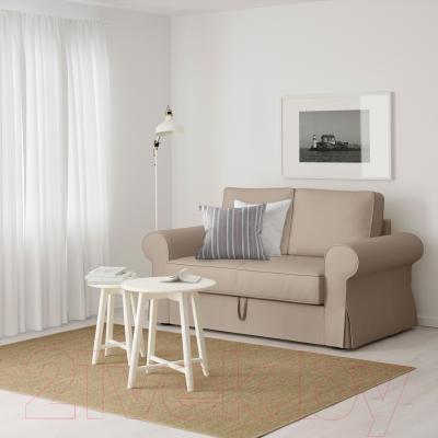 Диван-кровать Ikea Баккабру 190.335.57 (Тигельшо бежевый) - в интерьере