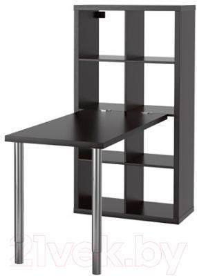 Письменный стол Ikea Каллакс 190.465.50 (черно-коричневый)