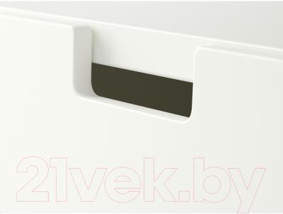 Комод Ikea Стува 190.990.82 (белый)