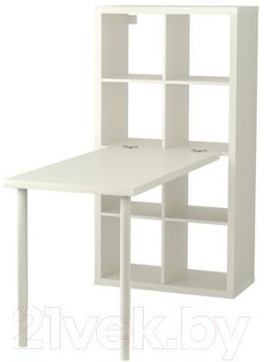 Письменный стол Ikea Каллакс 191.230.63 (белый)