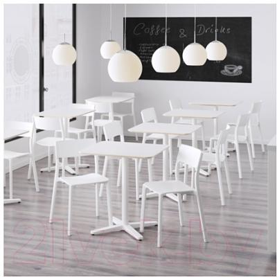 Обеденный стол Ikea Бильста 191.287.15 (белый)