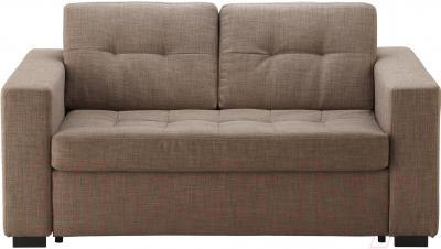 Диван-кровать Ikea Клагсторп/Лэннэс 191.304.74 (светло-коричневый) - вид спереди
