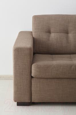 Диван-кровать Ikea Клагсторп/Лэннэс 191.304.74 (светло-коричневый)
