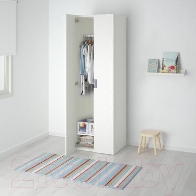 Шкаф Ikea Стува 191.335.47 (белый/белый)