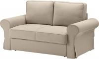 Диван-кровать Ikea Баккабру 191.336.51 (Хильте бежевый) -