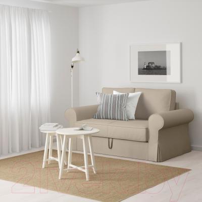 Диван-кровать Ikea Баккабру 191.336.51 (Хильте бежевый) - в интерьере