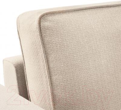 Диван-кровать Ikea Баккабру 191.336.51 (Хильте бежевый)