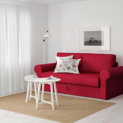 Диван-кровать Ikea Баккабру 191.341.08 (Нордвалла красный) - в интерьере