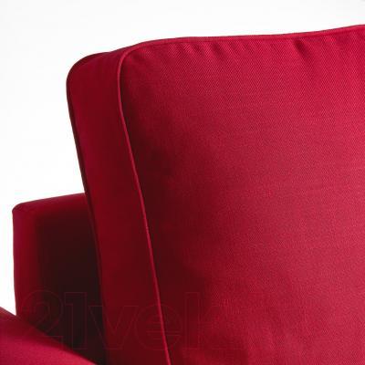 Диван-кровать Ikea Баккабру 191.341.08 (Нордвалла красный)