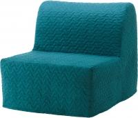 Кресло-кровать Ikea Ликселе Ховет 191.341.46 (бирюзовый) -