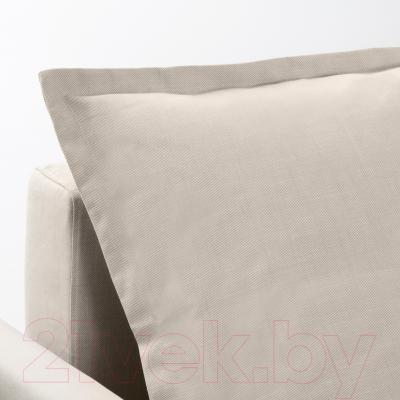 Диван-кровать Ikea Хольмсунд 191.406.23 (Нордвалла бежевый)