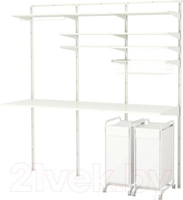 Система хранения Ikea Альгот 191.652.51