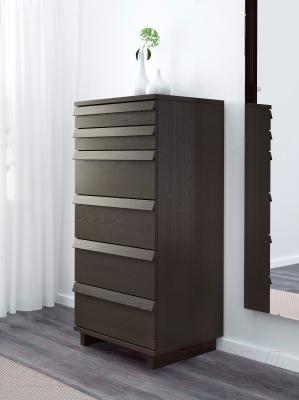 Комод Ikea Оппланд 602.691.61 (коричневая морилка/ясеневый шпон)