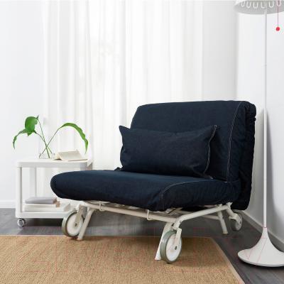 Кресло-кровать Ikea Икеа/Пс Мурбо 198.744.45 (темно-синий) - в интерьере