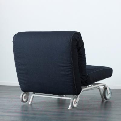 Кресло-кровать Ikea Икеа/Пс Мурбо 198.744.45 (темно-синий) - вид сзади