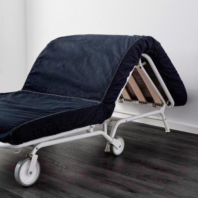 Кресло-кровать Ikea Икеа/Пс Мурбо 198.744.45 (темно-синий) - в процессе раскладки