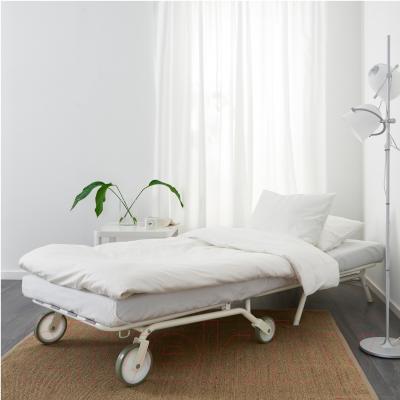 Кресло-кровать Ikea Икеа/Пс Мурбо 198.744.45 (темно-синий) - в разложенном виде