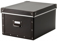 Ящик для хранения Ikea Фьелла 602.699.53 (коричневый) -