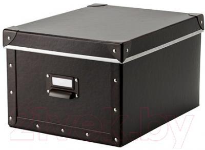 Ящик для хранения Ikea Фьелла 602.699.53 (коричневый)