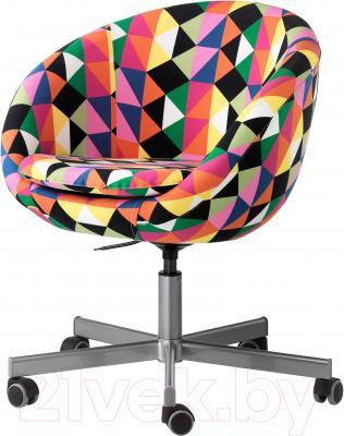 Кресло офисное Ikea Скрувста 602.786.41 (разноцветный)