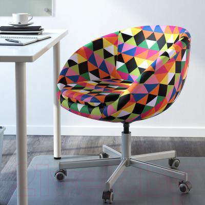 Кресло офисное Ikea Скрувста 602.786.41 (разноцветный) - в интерьере