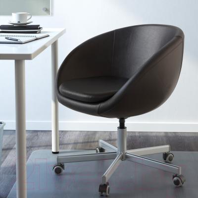 Кресло офисное Ikea Скрувста 602.800.26 (черный) - в интерьере