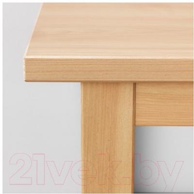 Журнальный столик Ikea Хемнэс 602.821.34 (светло-коричневый)