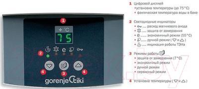 Накопительный водонагреватель Gorenje OGB100SEDDSB6