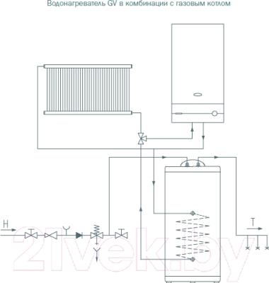 Накопительный водонагреватель Gorenje GV 100