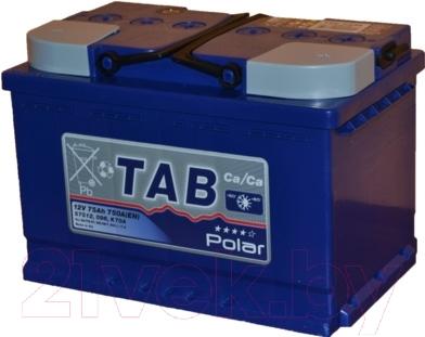Автомобильный аккумулятор TAB Polar Blue 121075 (75 А/ч)