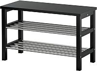 Скамья Ikea Чусиг 602.990.59 (с полкой для обуви) -