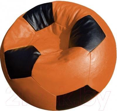 Бескаркасное кресло Flagman Мяч Стандарт М1.3-2016 (оранжевый/черный)