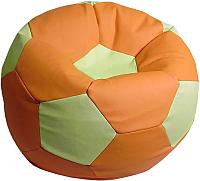 Бескаркасное кресло Flagman Мяч Стандарт М1.3-27 (оранжевый/светло-оливковый) -