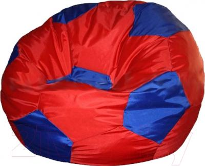 Бескаркасное кресло Flagman Мяч Стандарт М1.1-14 (красный/синий)