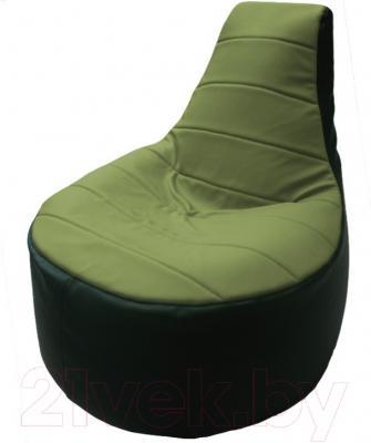 Бескаркасное кресло Flagman Трон Т1.3-04 (оливковый/зеленый)